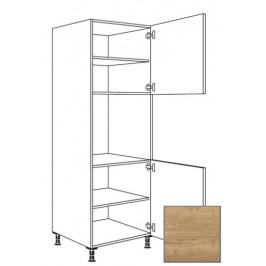 Kuchyňská skříňka vysoká Naturel Sente24 pro troubu 60 cm dub sierra 405.GO02.R