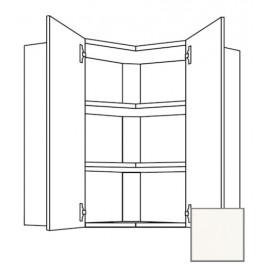 Kuchyňská skříňka horní Naturel Erika24 rohová 65 cm bílá lesk 450.WE6502L