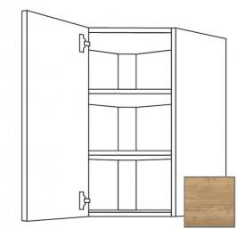 Kuchyňská skříňka horní Naturel Sente24 rohová 60 cm dub sierra 405.WED6002.L