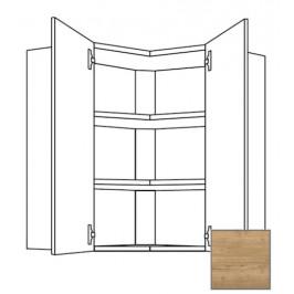 Kuchyňská skříňka horní Naturel Sente24 rohová 60 cm dub sierra 405.WE6002L
