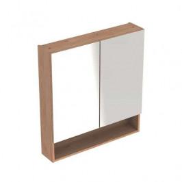 Zrcadlová skříňka Geberit Selnova 58,8x85 cm lamino ořech hickory světlý 501.267.00.1