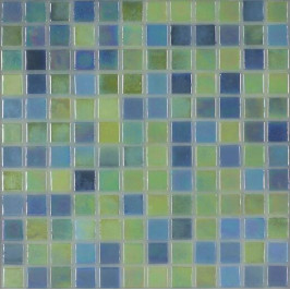 Skleněná mozaika Mosavit Acquaris Caribe 30x30 cm lesk ACQUARISCA