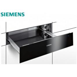 Ohřevná zásuvka Siemens černá BI630CNS1