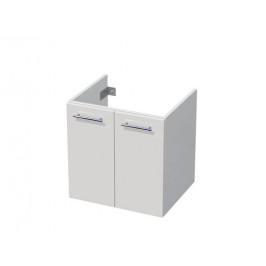 Koupelnová skříňka pod umyvadlo Naturel Ratio 56x56x44 cm bílá mat PS602D56.9016M