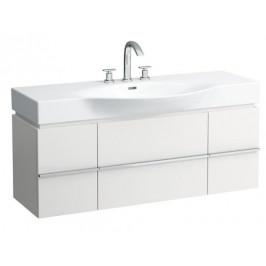 Koupelnová skříňka pod umyvadlo Laufen Case 119,3x44x37,5 cm bílá lesk H4013020754751 - LAUFEN H4013020754751