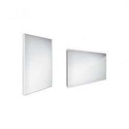 Zrcadlo bez vypínače Nimco 70x50 cm hliník ZP 9001