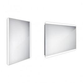 Zrcadlo bez vypínače Nimco 80x60 cm hliník ZP 17002