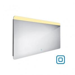Zrcadlo se senzorem Nimco 140x70 cm hliník ZP 23008V