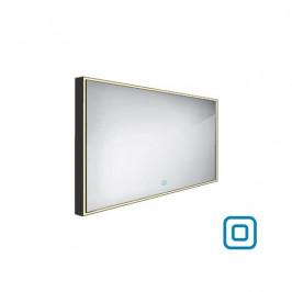 Zrcadlo se senzorem Nimco 120x70 cm černá ZPC 13006V-90