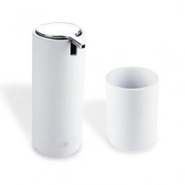 Dávkovač mýdla Nimco Omivčetně kelímku bílá OM 1605831-05