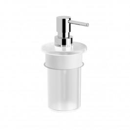 Dávkovač mýdla Swiss Aqua Technologies Simply R chrom/mléčné sklo SATDSIMRDAV