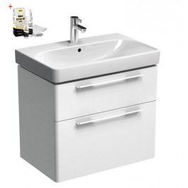 Skříňka s umyvadlem Kolo Kolo 60 cm, bílá lesklá SIKONKOT60BL