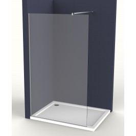 Pevná stěna Anima Walk-in 80 cm, čiré sklo, chrom profil WI80