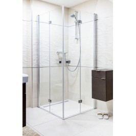 Sprchový kout Anima SK skládací 90 cm, čiré sklo, chrom profil SK9090