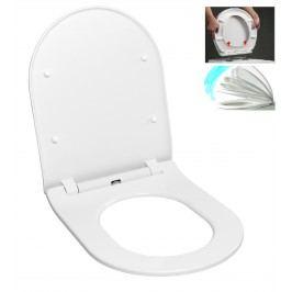 WC sedátko softclose Glacera Duroplast EASYSLIM44
