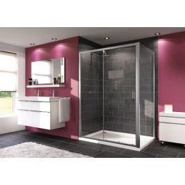 Sprchové dveře Huppe Next posuvné 140 cm, čiré sklo, chrom profil 140404.069.322