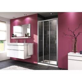 Sprchové dveře Huppe Next posuvné 100 cm, čiré sklo, chrom profil 140305.069.322