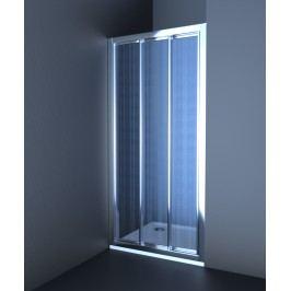 Sprchové dveře Anima Epd posuvné 120 cm, neprůhledné sklo, chrom profil EPD120CRCH