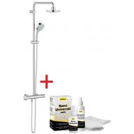 Sprchový systém Grohe s termostatickou baterií, 2 funkce, kulatý design SIKOBGSST2