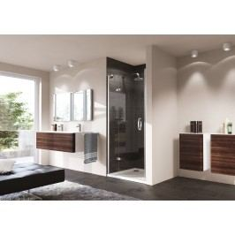 Sprchové dveře Huppe Strike jednokřídlé 90 cm, čiré sklo, chrom profil, pravé 430202.092.322