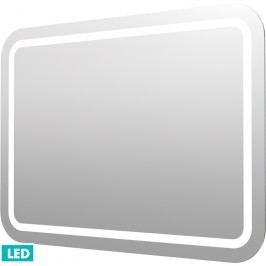 Naturel Zrcadlo s osvětlením led Iluxit 100x70 cm IP44, s vyhřívanou fólií a senzorem ZIL10070KTLEDS