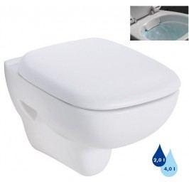 Závěsné WC Kolo Style, zadní odpad L23120000