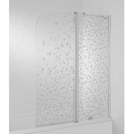 Vanová zástěna Jika Cubito 115x140 cm pravá, neprůhledné sklo H2574260026691