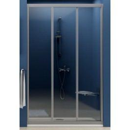 Sprchové dveře Ravak Supernova posuvné 110 cm, neprůhledný plast, bílý profil 00VD010211