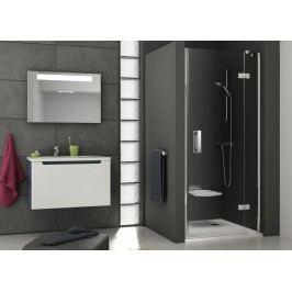 Sprchové dveře Ravak Serie 700 jednokřídlé 100 cm, čiré sklo, chrom profil 0SLABA00Z1