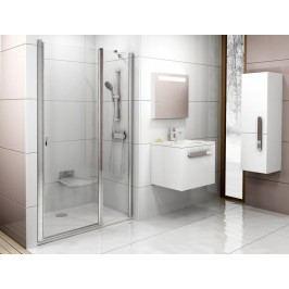 Sprchové dveře Ravak Chrome jednokřídlé 120 cm, čiré sklo, chrom profil 0QVGCC00Z1
