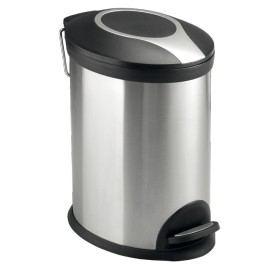 Optima Odpadkový koš 12 l, nerez, mat KOS12PLOVAL
