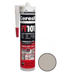 Tmel a lepidlo Ceresit FT101 280 ml šedá FT101