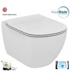 Závěsný WC se sedátkem softclose Ideal Standard Testra, zadní odpad, 53cm SIKOSIST0079