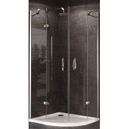 Sprchový kout Huppe Strike čtvrtkruh 100 cm, R 550, čiré sklo, chrom profil, univerzální 430804.092.322