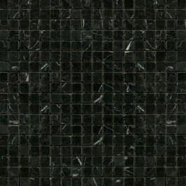 Premium Mosaic Stone Kamenná mozaika černá leštěná 1,5/1,5 STMOS15BKP