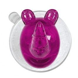 Kleine Wolke Nástěnný háček s přísavkou Crazy Hooks, fialová 5070463887