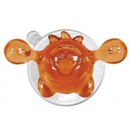 Kleine Wolke Nástěnný háček s přísavkou Crazy Hooks, oranžová 5071488887