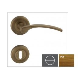Naturel Klika LAURA2-R,bronz česaný matný,WC LAURA2ROGSWC