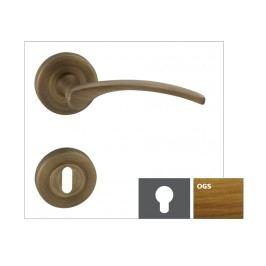 Naturel Klika LAURA2-R,bronz česaný matný,WB LAURA2ROGSWB