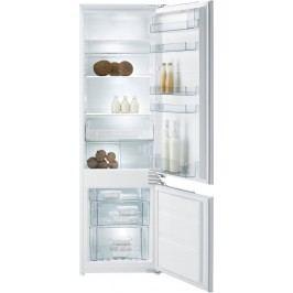 Gorenje Vestavná kombinovaná chladnička, bílá RKI5182EW