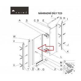 Anima Sklo dveře transp. 100, TCD2100T NDTCD2100TDVERE