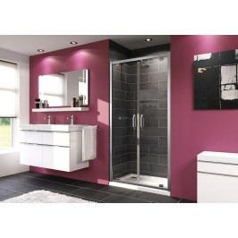 Sprchové dveře Huppe Next dvoukřídlé 100 cm, čiré sklo, chrom profil 140907.069.322