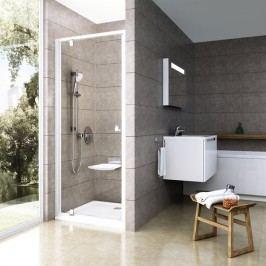 Sprchové dveře Ravak Serie 300 jednokřídlé 100 cm, čiré sklo, satin profil 03GA0U00Z1
