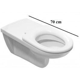 Závěsné WC Jika Deep, zadní odpad, 70cm H8206420000001