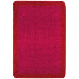 Koupelnová předložka akryl Optima 60x90 cm, červená PRED013