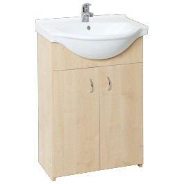Skříňka s umyvadlem Multi Simple 55 cm, bříza SIMPLE55BR