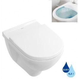 Závěsné WC Villeroy & Boch O.Novo, zadní odpad, 56cm 5660R001