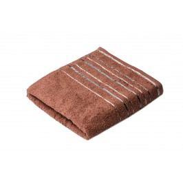 Ručník Zara 100x50 cm, hnědá, 450 g/m2 RUC074