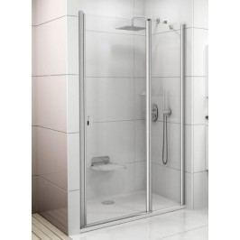 Sprchové dveře Ravak Chrome jednokřídlé 100 cm, čiré sklo, chrom profil 0QVACC00Z1