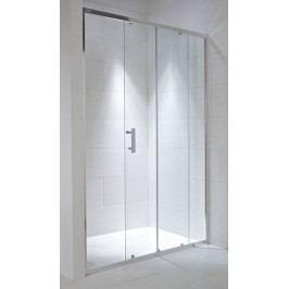 Sprchové dveře Jika posuvné 120 cm, čiré sklo, chrom profil H2422440026681